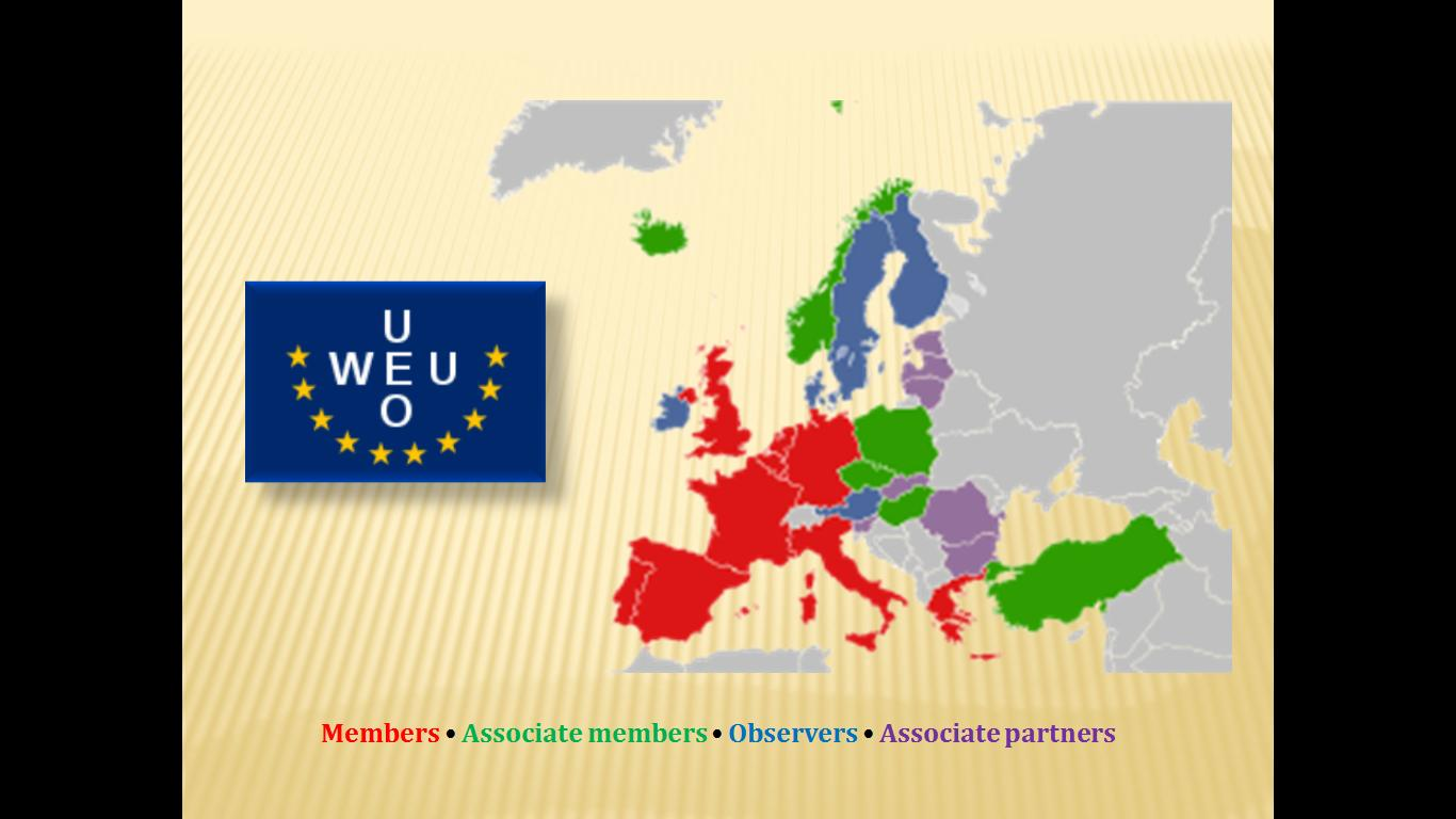 the history of the western european union The world bank group's office in brussels is responsible for facilitating the strategic partnership between the organization and the european union (eu.