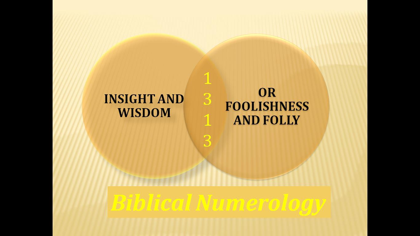 Number 6 biblical numerology